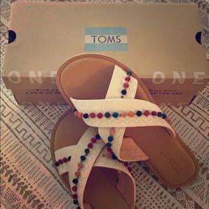 Tom's Hemp Sandals 💜